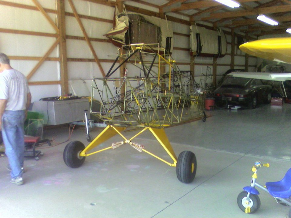 Cub Restoration and putting it on Floats